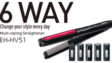 6 Way Multi-styling Straightener EH-HV51