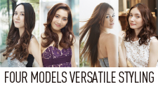 FOUR MODELS VERSATILE STYLING