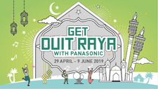 Get Duit Raya With Panasonic