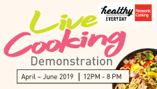 LIVE Cooking Demonstration | Panasonic Cooking