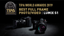 "LUMIX DC-S1 - TIPA World Awards 2019 ""Best Full Frame Photo/Video"" Camera"