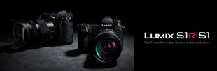 LUMIX S and S1 Cameras
