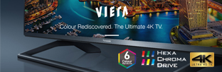 VIERA TV - The Ultimate 4K TV