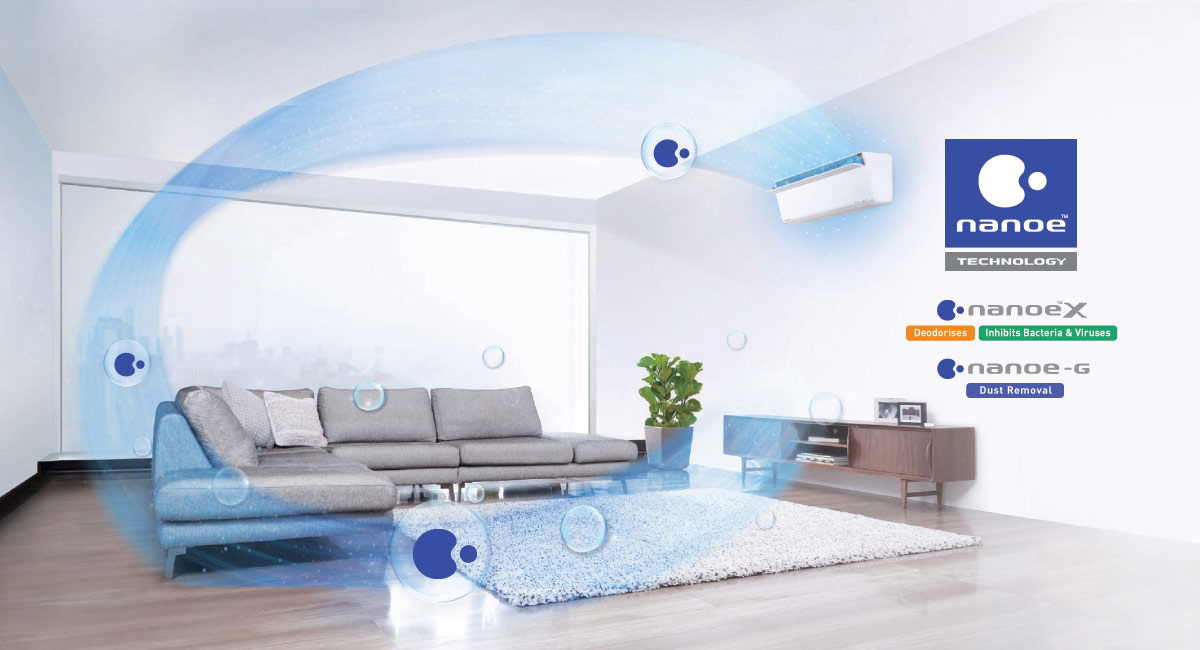 Panasonic's Most Advanced Air Purification System