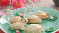 Swan Pastry With Yam Filling