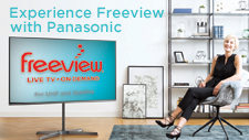 Freeview On Demand is built-in to Panasonic TVs