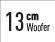 Woofer de 13cm