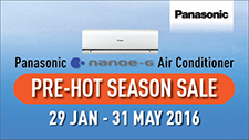 Panasonic Air Conditioners Pre-Hot Season Promotion