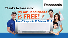 My Aircon is Free Promotion