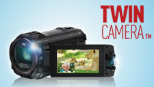The Twin Camera™ Doubles Your Fun