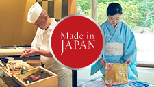 Quality born of the Japanese spirit of hospitality