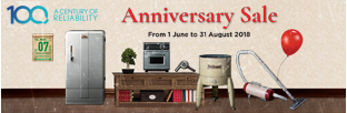 Panasonic 100th Anniversary Sale – Home Appliances
