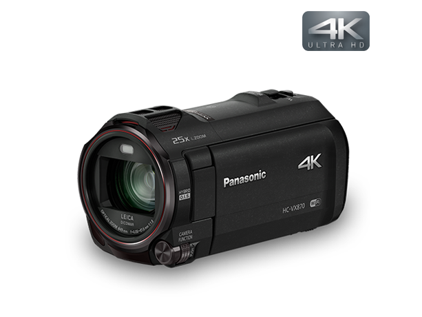 Photo of 4K Ultra HD Camcorder HC-VX870