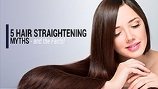 5 Hair Straightening Myths – and the Facts!