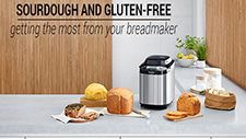 Sourdough and gluten-free, getting the most from your breadmaker