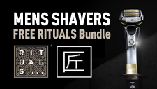 Mens Shavers - Rituals Offer