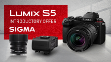 New LUMIX S5 Introductory Offer