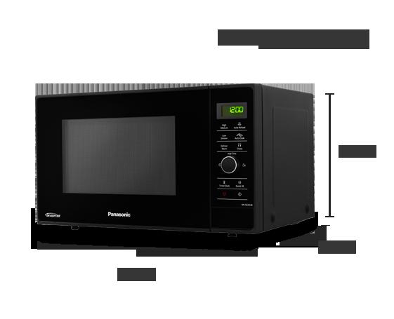 Inverter Microwave NN-SD25HBBPQ