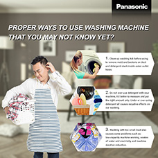 Proper ways to use washing machine that you may not know yet?