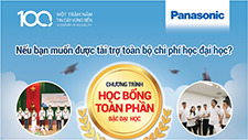 Panasonic scholarships for University students