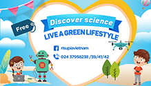 DISCOVER SCIENCE – LIVE A GREEN LIFESTYLE