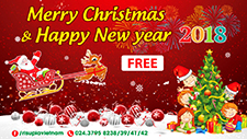 Merry Christmas and Happy New Year 2018