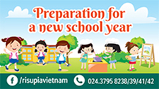 PREPARATION FOR NEW SCHOOL YEAR 2018