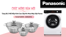 Grateful gifts to customers on New Year occasion from Panasonic Washing Machine