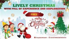 LIVELY CHRISTMAS, FULL OF EXPERIENCE AND EXPLORATION