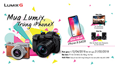 BUY LUMIX, GET IPHONE X