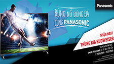 ENJOY WOLRD CUP WITH PANASONIC TIVI GET BUDWEISER BEER