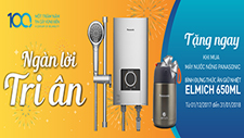 NGAN LOI TRI AN – PROMOTION GIFT FOR PANASONIC HOME SHOWER