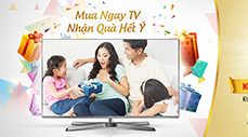 Get great gifts when buy Panasonic TVs