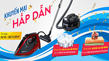 [HOT PROMOTION IN NOVEMBER] PANASONIC VACUUM CLEANER & STEAM IRON