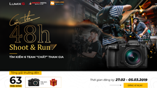 CUỘC THI LUMIX G – SHOOT & RUN!