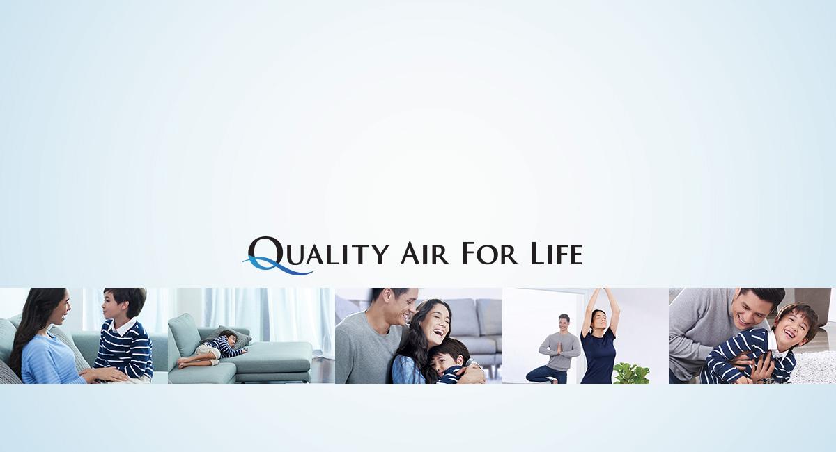 Chúng tôi cải thiện chất lượng không khí để giúp bạn cải thiện chất lượng cuộc sống.