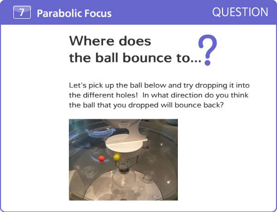 Where does the ball bounce to...?
