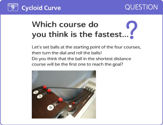 Which course do you think is the fastest...?