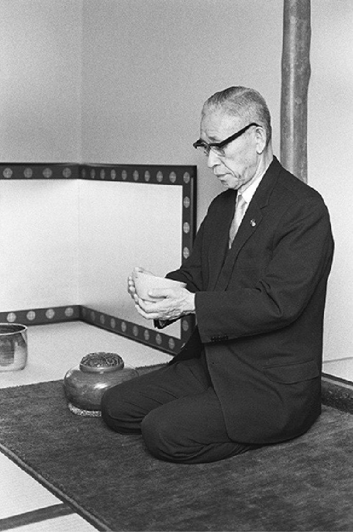 Photo of Konosuke Matsushita, founder of Panasonic Corporation