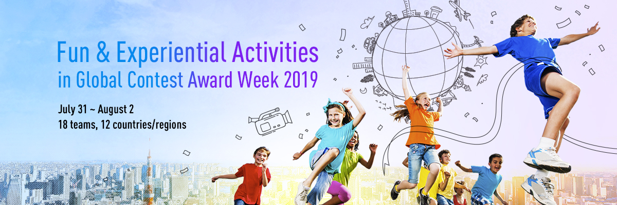 Fun & Experiential Activities in Global Contest Award Week 2019