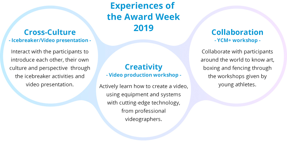 Experiences of the Award Week 2019