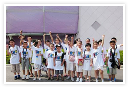KWN Winners in China Visit the Shanghai Expo