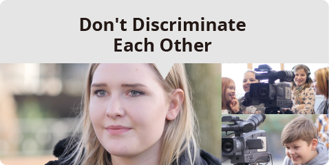 Don't Discriminate Each Other