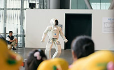 Photo: ASIMO the humanoid robot