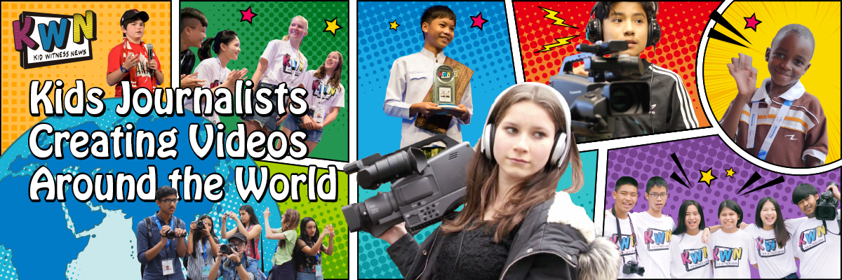 Kids Journalists Creating Videos Around the World
