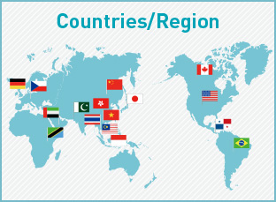 Countries/Region