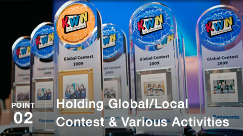 POINT02 Holding Global/Local Contest & Various Activities