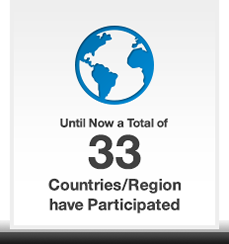 Until Now a Total of 33 Countries/Region have Participated