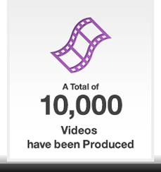 A Total of 10,000 Videos have been Produced