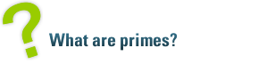 What are primes?